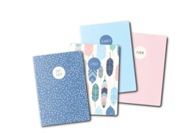 Feathers A6 Travelers Notebook Inserts
