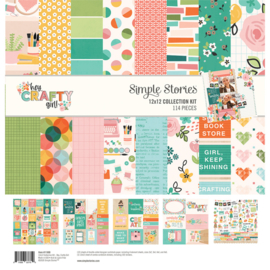 Simple Stories - Hey Crafty Girl collection kit
