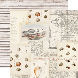 """Simple Stories - SV Coastal Sandy Toes Double Sided 12"""""""