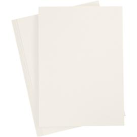 Cardstock 10 vellen - Off White 220 gram