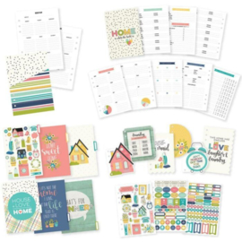 Carpe Diem A5 Home Planner Inserts set