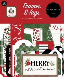 Echo Park -Home for Christmas Frames & Tags