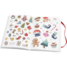 Stickerboek - kerst