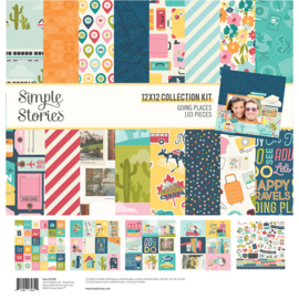 Simple Stories - Going Places collection kit 12x12