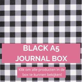 Black A5 journal box