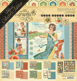 Graphic 45 Home Sweet Home Deluxe Collector's Edition