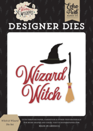 Echo Park Witches and Wizards die set