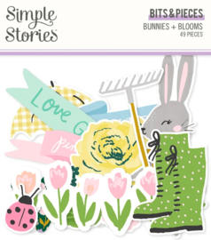 Simple Stories - Bunnies & Blooms bits & pieces