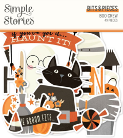 Simple Stories - Boo Crew Bits & Pieces