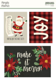Simple Stories - Jingle All The Way Sn@p cards