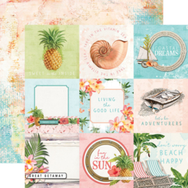 """Simple Stories - SV Coastal 4x4 Elements Double Sided 12"""""""