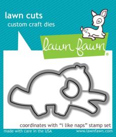 Lawn Fawn - I Like Naps lawn cuts