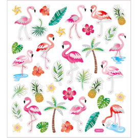 Flamingo stickers