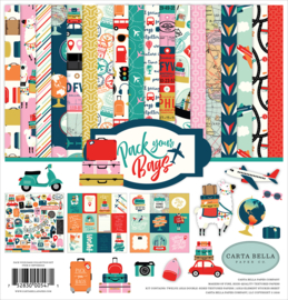 Carta Bella - Pack Your Bags 12x12 collectie