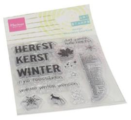 Marianne Design - Clear Stamps Hallo Herfst (NL)