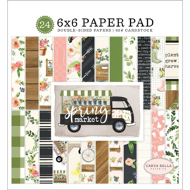 Carta Bella - Spring Market 6x6 paper pad