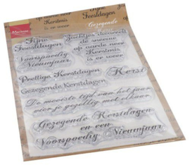 Marianne Design - Clear Stamps Gezegende Kerst (NL)