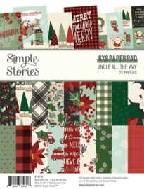 Simple Stories - Jingle All The Way 6x8 paper pad