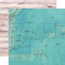 """Simple Stories - SV Coastal On Island Time Double Sided 12"""""""