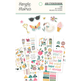 Simple Stories - I Am stickerboek