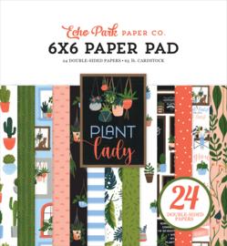Echo Park Plant Lady 6x6 paper pad
