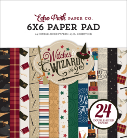 Echo Park Witches and Wizards 2 6x6 paper pad
