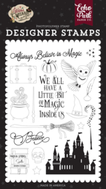 Echo Park Witches and Wizards 2 Believe in Magic stamp set