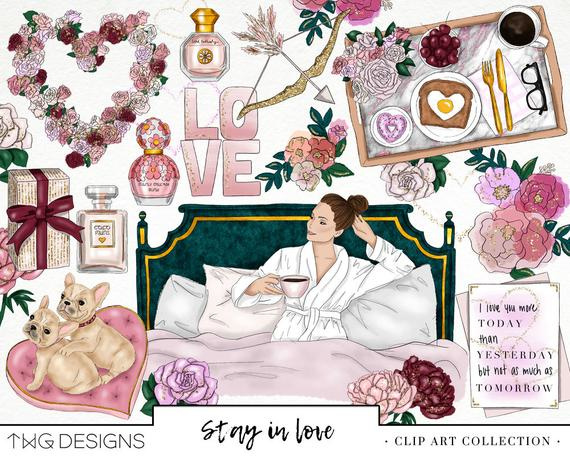 Self Love planner kit printable