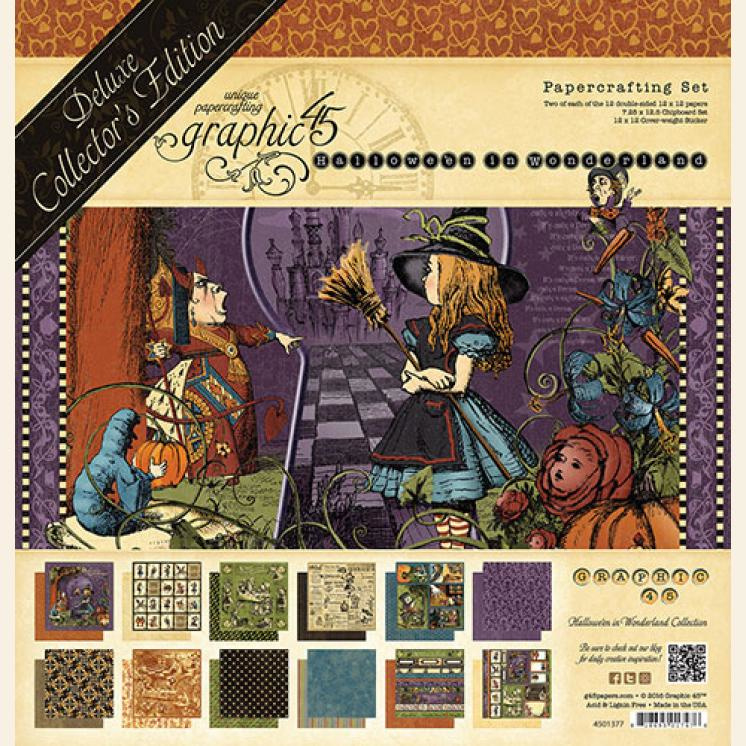 Graphic45 - Halloween in Wonderland Deluxe Collector's Edition