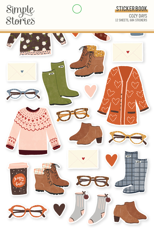 Simple Stories - Cozy Days stickerboek