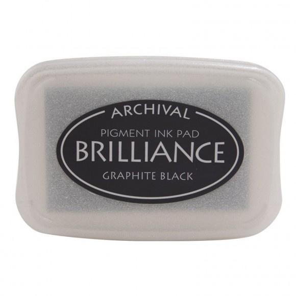 Brilliance ink pad - Graphite Black
