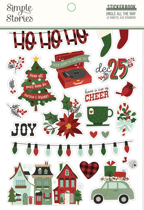 Simple Stories - Jingle All The Way stickerboek