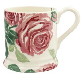 Pink Roses mug 1/2 pint