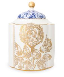 Storage Jar Medium Royal White