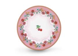 Plate Cherry Pink 17 cm