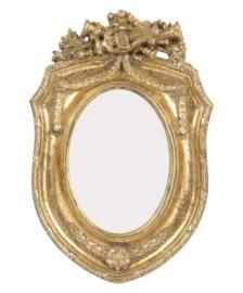 Fotolijst harp 9x6  cm goud