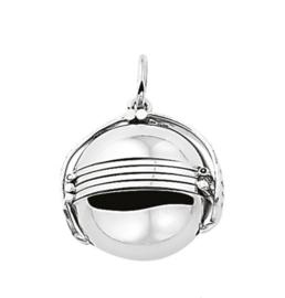 Zilveren foto bol