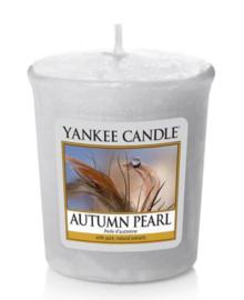 Autumn Pearl votive