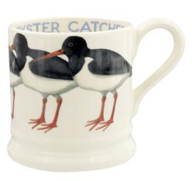 Oyster Catcher mug  1/2 pint