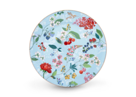 Plate Hummingbirds Blue 32 cm