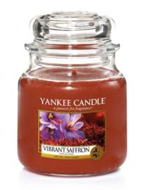 Vibrant Saffron medium jar