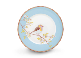Plate Early Bird Blue 21 cm
