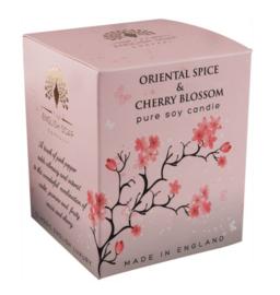 Oriental Spice & Cherry Blossom geurkaars 170 gr