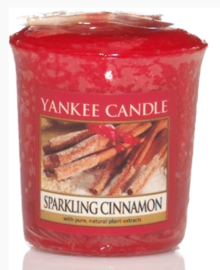 Sparkling Cinnamon votive