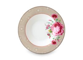 Soup Plate Rose Khaki 21,5 cm