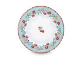 Plate Cherry Blue 17 cm