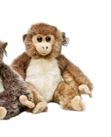 Baby aapje 23 cm (lichtbruin)