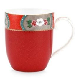 Mug small Blushing bird red 145 ml