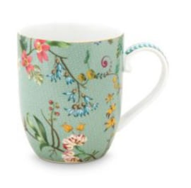 Jolie Flowers Blue mug small 145ml