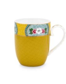 Mug small Blushing bird yellow 145 ml